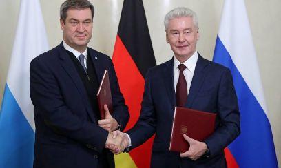 Bayern und Moskau kooperieren