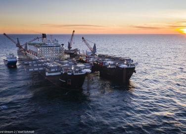 Nord Stream 2: Erster Strang verlegt