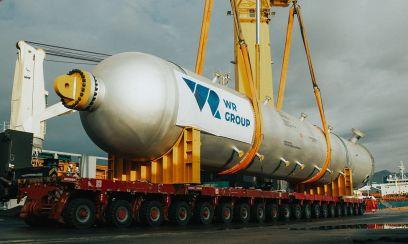 Trotz Krise: WR Group organisierte einen Großraumtransport von der Toskana an die russische Ostsee