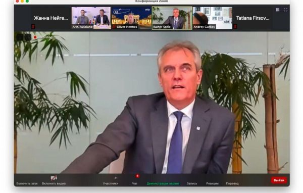 Rainer Seele, Präsident der Deutsch-Russischen Auslandshandelskammer