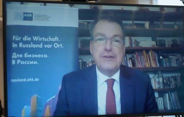 Vorstandsvorsitzender der Deutsch-Russischen Auslandshandelskammer Matthias Schepp