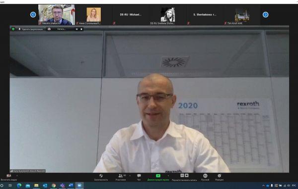 Yury Kurylovich, Generaldirektor von Bosch Rexroth Russia