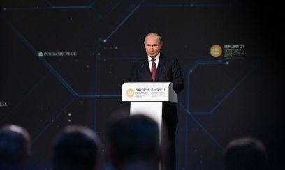 SPIEF-2021: Präsident Putin plädiert für wirtschaftliche Reformen