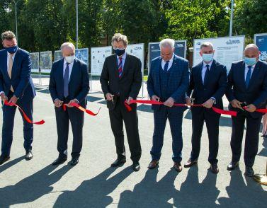 """Eröffnung der Wanderausstellung """"Die Russland-Meister 4.0"""" in Saratow"""
