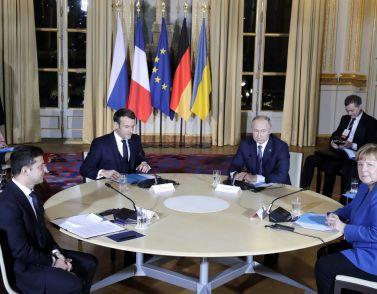 «Четверка» встретилась в Париже