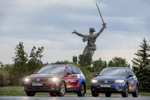 Автопробег Российско-Германской ВТП: Волгоград