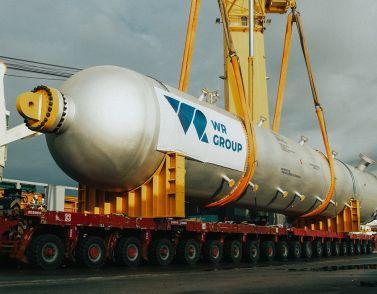 Вопреки кризису: WR Group организовала крупногабаритную перевозку из Тосканы к российскому Балтийскому побережью
