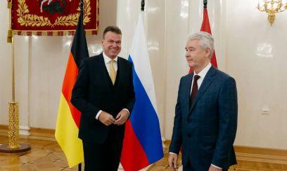 Немецкий бизнес встретился с мэром Собяниным