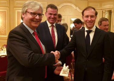CEO-Dinner der AHK mit Industrieminister Manturow