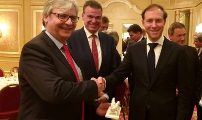 CEO-Dinner der AHK mit Industrieminister Manturow