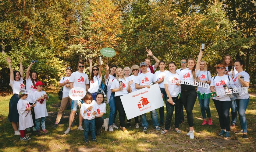 <p>Henkel-Mitarbeiter organisieren weltweit Plastik-Sammelaktionen</p>