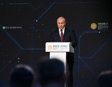 ПМЭФ 2021: Путин призывает к экономическим реформам