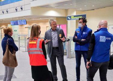 В Россию прибыл рекордный по числу пассажиров рейс с немецкими топ-менеджерами на борту