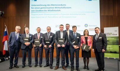 Initiative Lissabon-Wladiwostok unterzeichnet