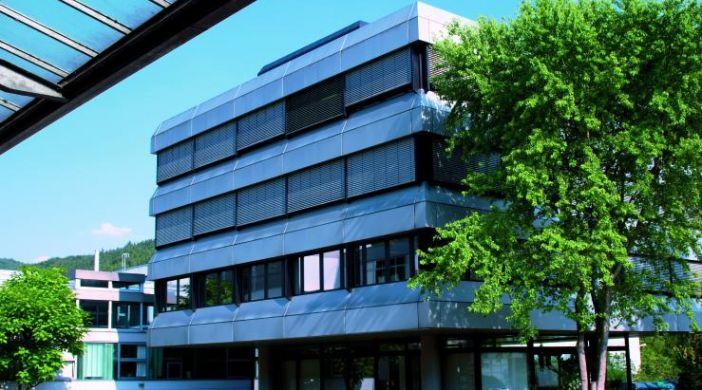 Головной офис ebm-papst в Мульфингене (Германия)