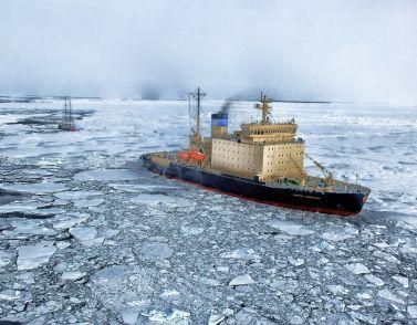 Arktis-Erschließung kostet 145 Mrd. Euro